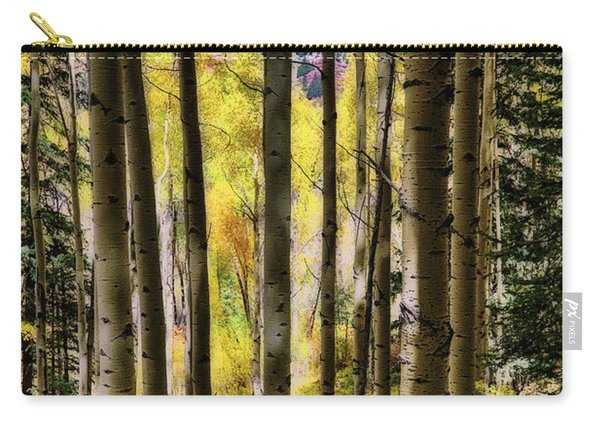 Aspen Mood - Autumn - Colorful Colorado Carry-all Pouch
