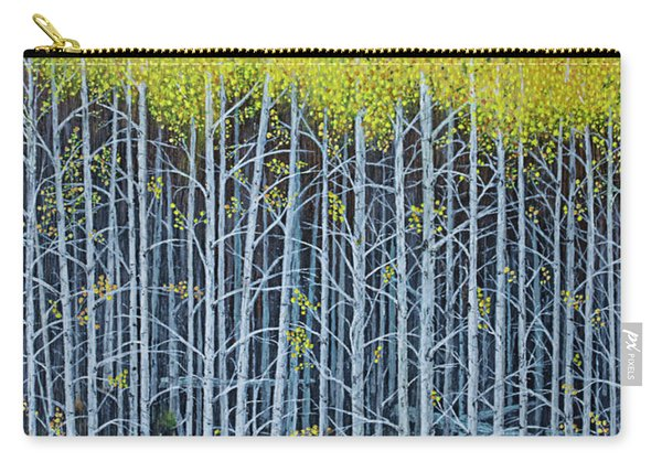 Aspen Stand The Painting Carry-all Pouch