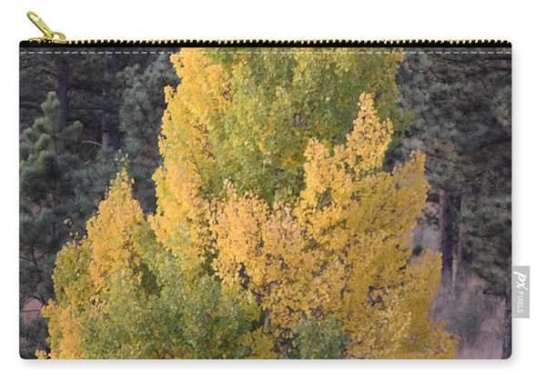 Aspen Tree Fall Colors Co Carry-all Pouch