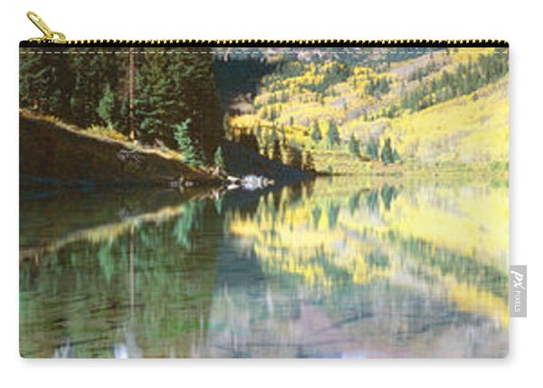Aspens And Morning Light, Maroon Bells Carry-all Pouch