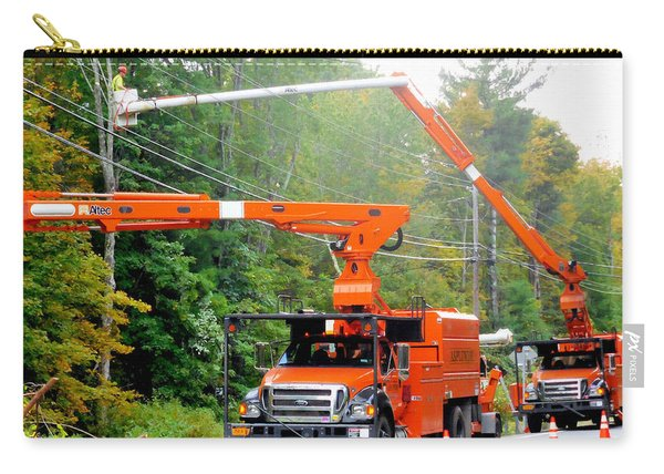 Asplundh Tree Expert Company Trucks 3 Carry-all Pouch