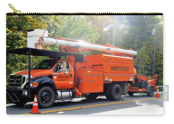 Asplundh Tree Expert Company Trucks 5 Carry-all Pouch
