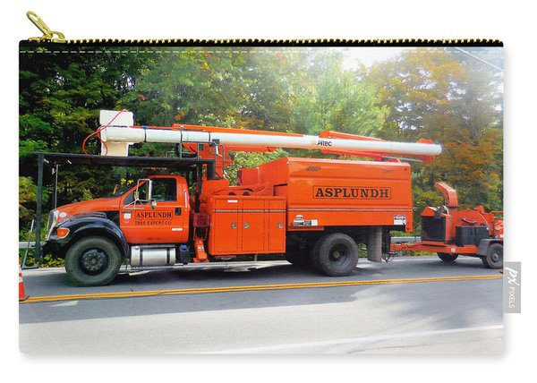 Asplundh Tree Expert Company Trucks Carry-all Pouch