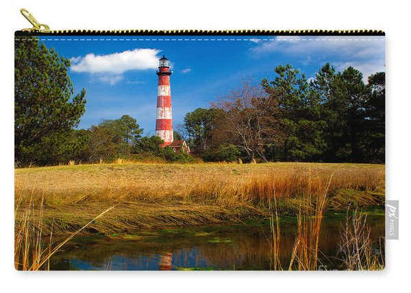 Assateague Lighthouse Reflection Carry-all Pouch