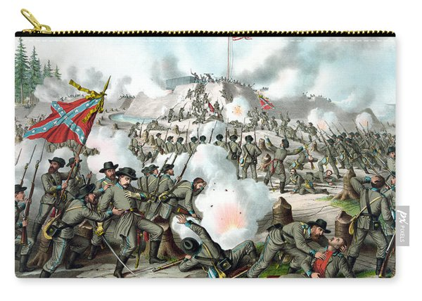 Assault On Fort Sanders Carry-all Pouch