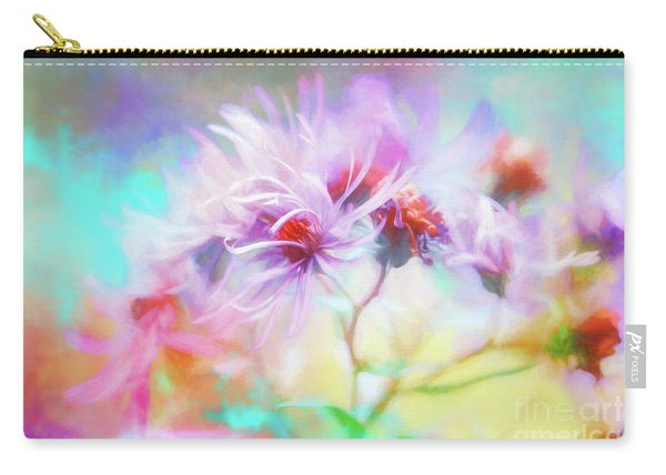 Asters Gone Wild Carry-all Pouch