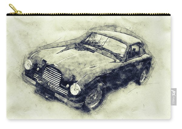 Aston Martin Db2 Gt Zagato 1 - 1950 - Automotive Art - Car Posters Carry-all Pouch