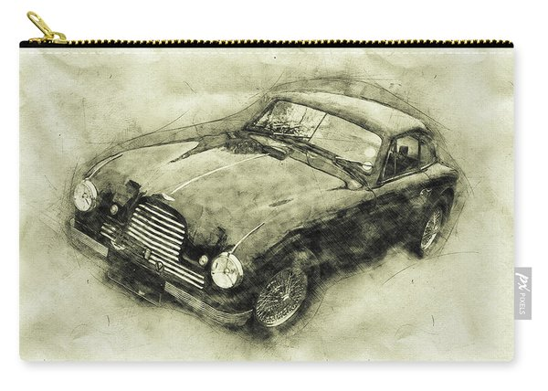 Aston Martin Db2 Gt Zagato - 1950 - Automotive Art - Car Posters Carry-all Pouch