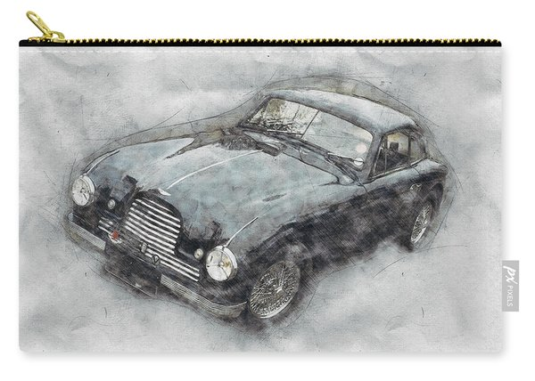 Aston Martin Db2 Gt Zagato 2 - 1950 - Automotive Art - Car Posters Carry-all Pouch