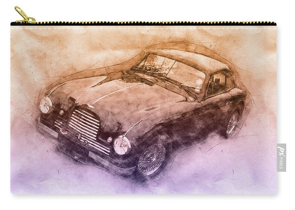 Aston Martin Db2 Gt Zagato 3 - 1950 - Automotive Art - Car Posters Carry-all Pouch