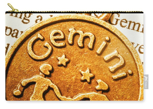 Astrological Gemini Carry-all Pouch