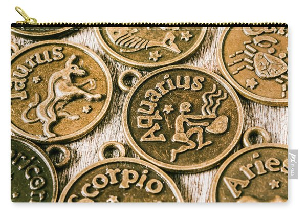 Astrology Charms Carry-all Pouch