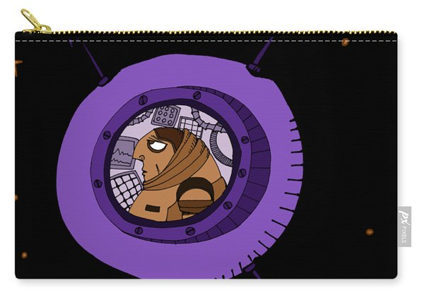 Astronaut In Deep Space Carry-all Pouch