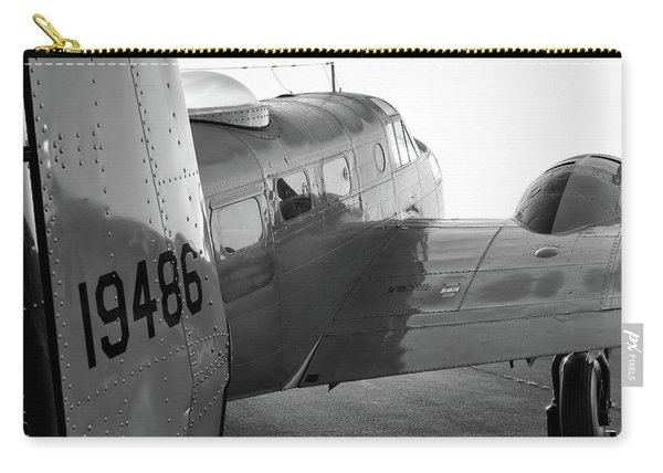 At-11 In Black And White - 2017 Christopher Buff, Www.aviationbuff.com Carry-all Pouch