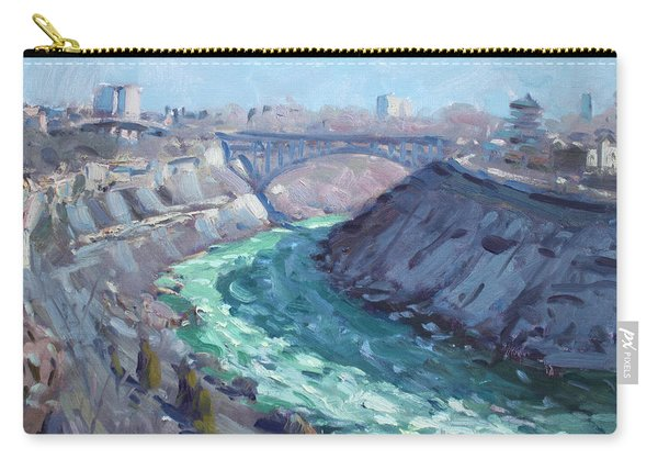 At Niagara Gorge Carry-all Pouch