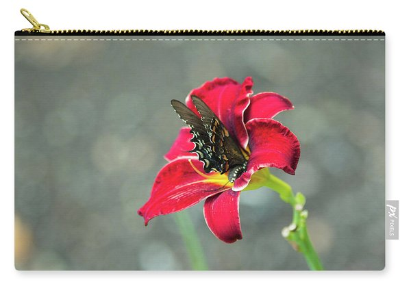 At One With The Orchid 2 Carry-all Pouch