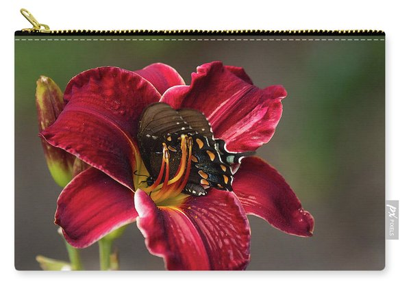 At One With The Orchid Carry-all Pouch