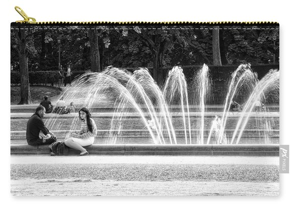 At The Fountain Carry-all Pouch