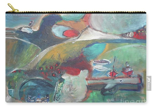 At The Sea Shore Carry-all Pouch