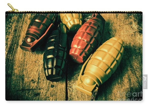 At The Wooden Armoury Carry-all Pouch