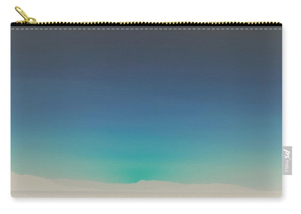 Athens Blue Ombre Sunset Carry-all Pouch