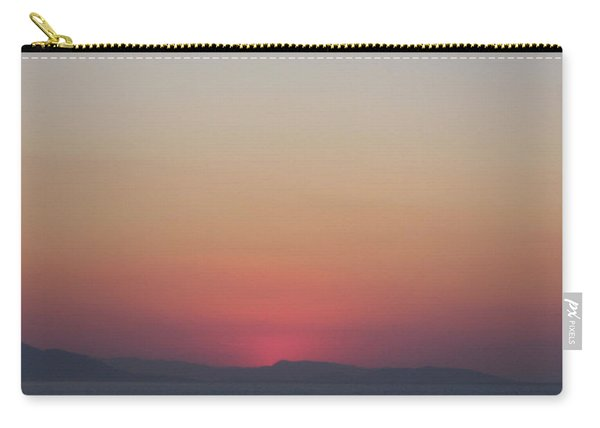 Athens Ombre Sunset Carry-all Pouch