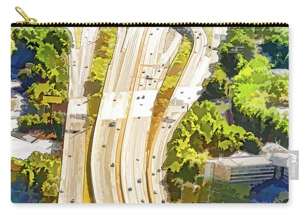 Atlanta Highways Carry-all Pouch