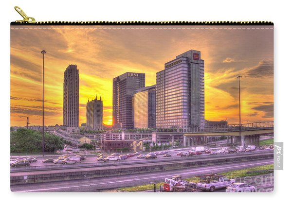 Atlanta Midtown Atlantic Station Sunset Carry-all Pouch