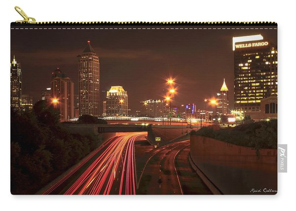 Atlanta Nite Works Cityscape Night Art Carry-all Pouch