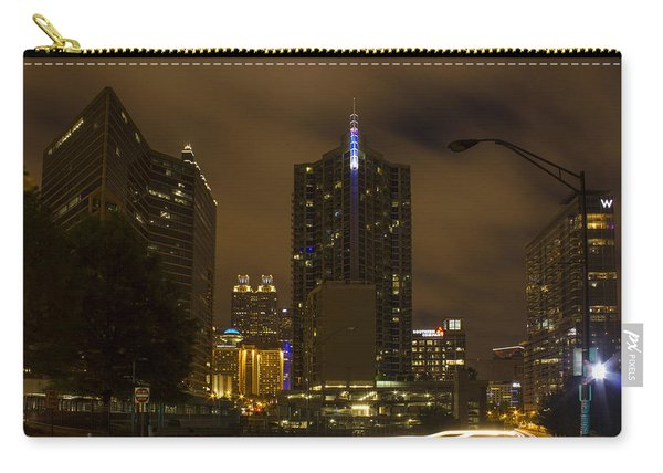 Atlanta Spring Street Lights Carry-all Pouch