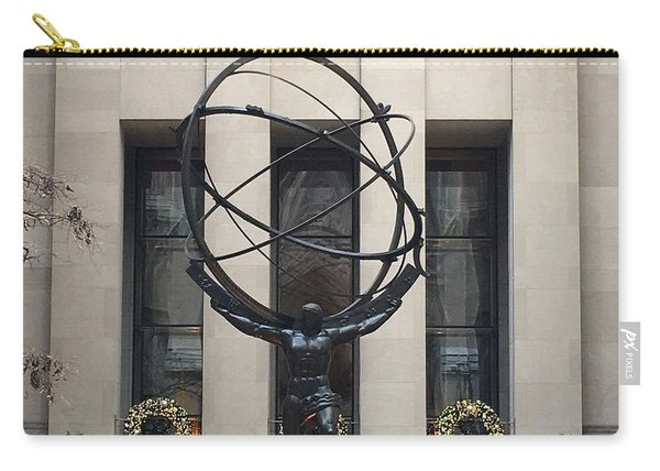 Atlas Statue Carry-all Pouch