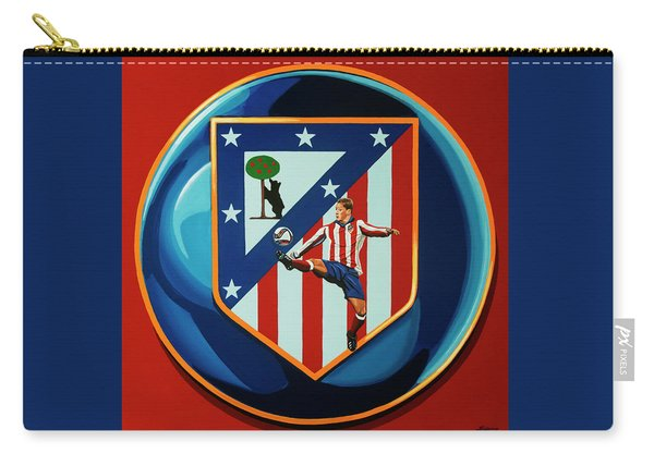 Atletico Madrid Painting Carry-all Pouch
