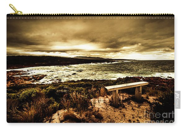 Atmospheric Beach Artwork Carry-all Pouch