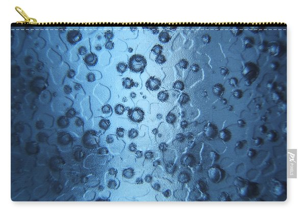 Atomic Blue Photograph Carry-all Pouch