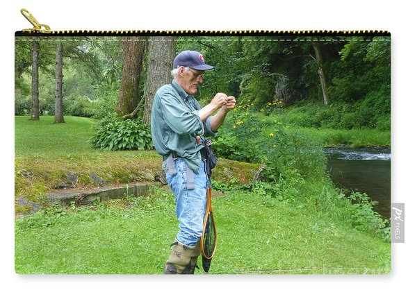 Attaching The Lure Carry-all Pouch