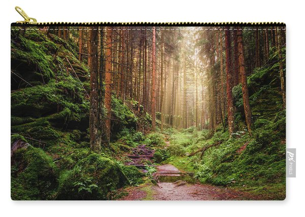Attractive Pathway In Saxon Switzerland Carry-all Pouch