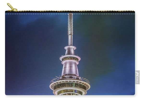 Auckland Sky Tower Night II Carry-all Pouch