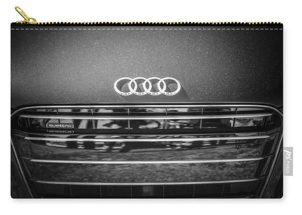 Audi Grille Emblem -2333bw Carry-all Pouch