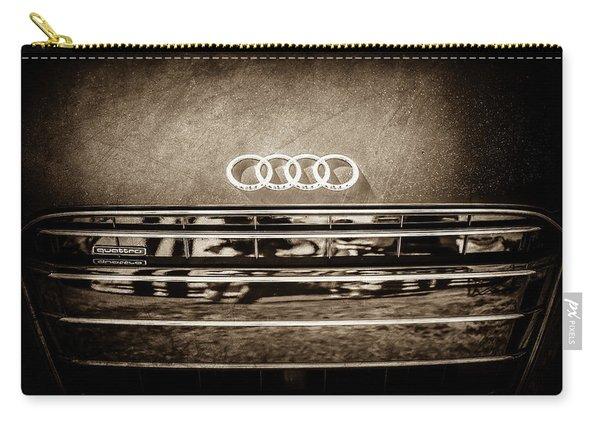 Audi Grille Emblem -2333s Carry-all Pouch