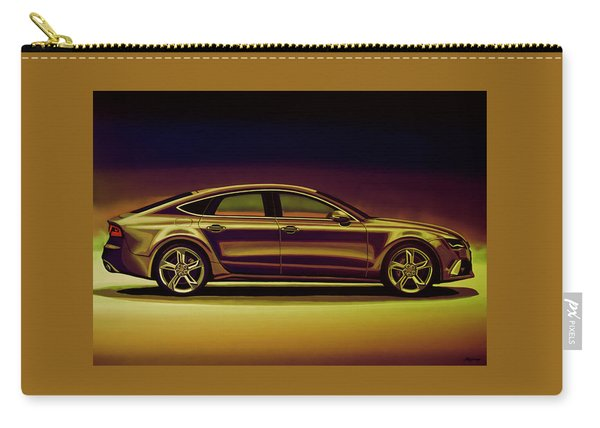Audi Rs7 2013 Mixed Media Carry-all Pouch