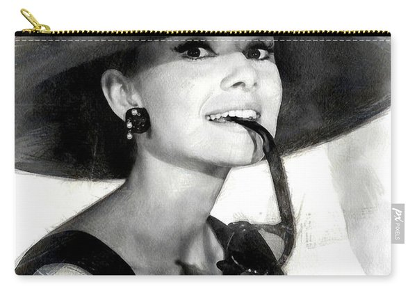 Audrey Hepburn 2 Carry-all Pouch