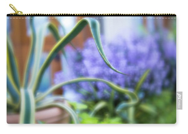 Carry-all Pouch featuring the photograph Audrey IIi by Brian Hale
