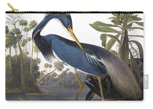 Audubon Heron, 1827 Carry-all Pouch
