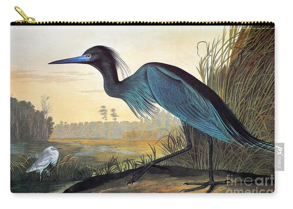 Little Blue Heron Carry-all Pouch