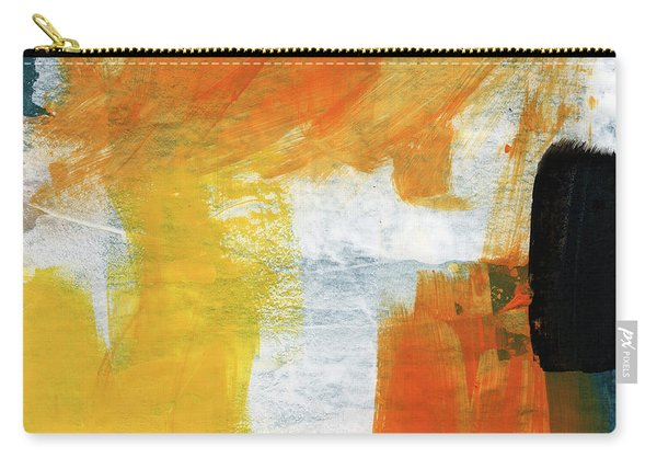 August- Abstract Art By Linda Woods. Carry-all Pouch