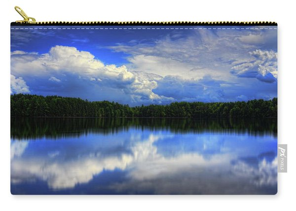 August Summertime On Buck Lake Carry-all Pouch