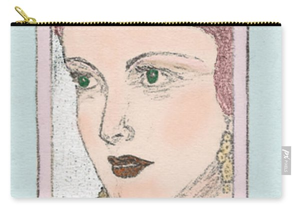 Aunt Edie Carry-all Pouch