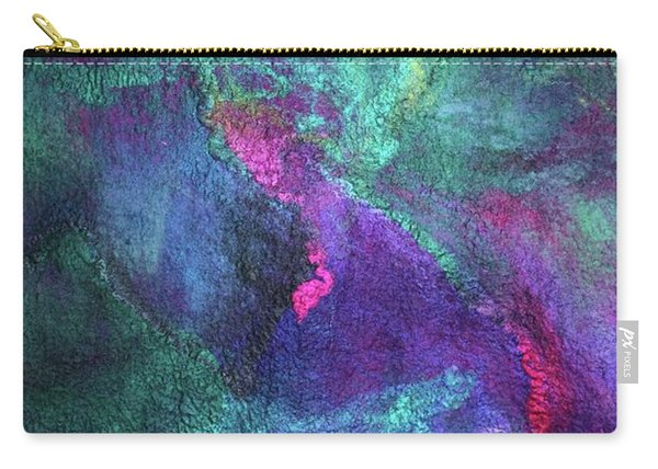 Aurora Borealis Lights Carry-all Pouch