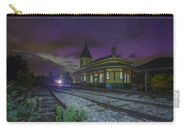 Aurora Over The Crawford Notch Depot Carry-all Pouch