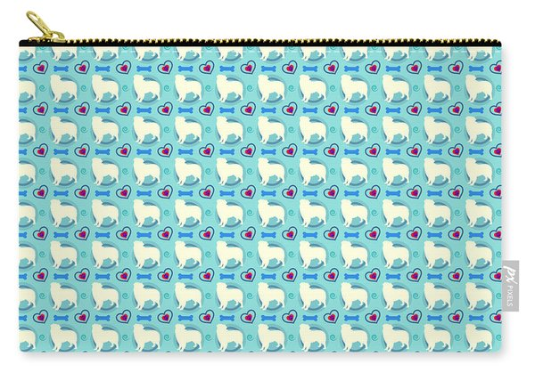Aussie Dog Pattern Carry-all Pouch